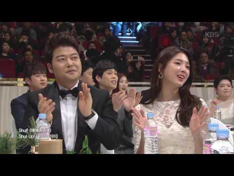 2016 KBS 연예대상 1부 - 연예대상의 막을 여는 언니쓰의 축하공연! 'Shut up'. 20161224