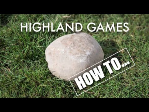 Highland games - How to shot put