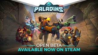 Paladins - Open Beta Trailer