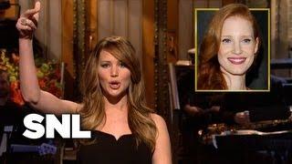 Monologue: Jennifer Lawrence on Her Fellow Oscar Nominees - SNL