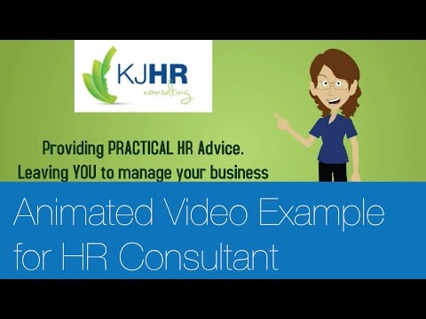 Small business animated video - HR Consultant - KJHR Consulting