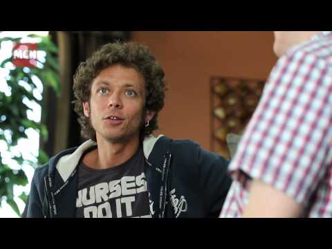 Valentino Rossi Interview Part 1
