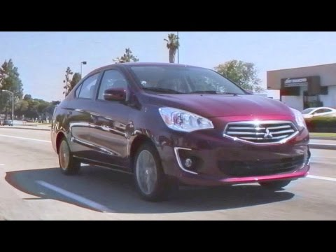 2017 Mitsubishi Mirage - Review and Road Test