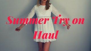 Summer Try On Haul I 2018 I