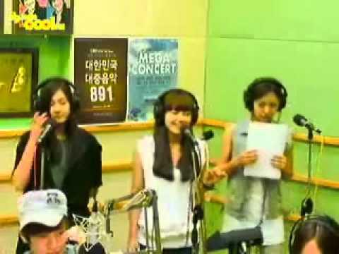 HQ Audio【APink】 Eunji&Namjoo&Hayoung - Blue Rain(FINKL)@110712 SJ's kiss the radio