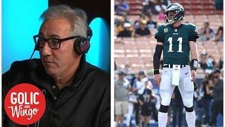 Reasonable expectations for Carson Wentz, Eagles vs. Colts   Golic and Wingo   ESPN