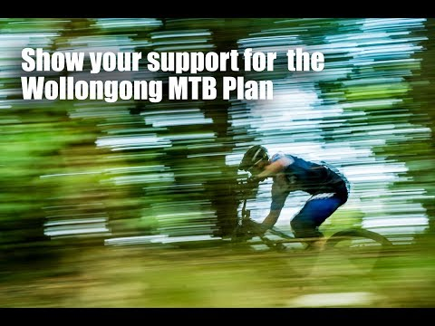 Show your support for the Wollongong mountain bike master plan