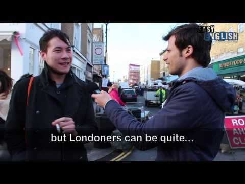 Talking to people in London | Easy English 4