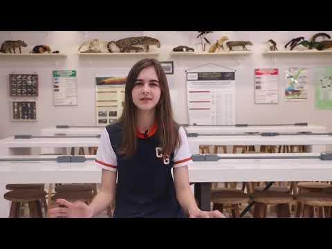 Ana Flávia Spak, aluna do 7º ano