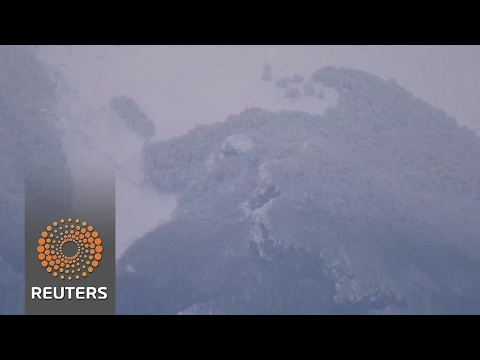 Italy avalanche death toll rises to 16, 13 still missing