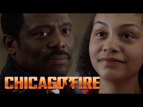 Chief Wallace Meets Rescued Orphan Years Later | Chicago Fire
