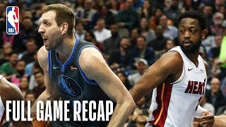HEAT vs MAVERICKS | Wade Leads Miami In Dallas | February 13, 2019