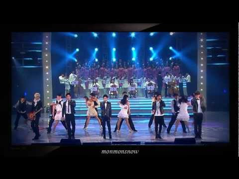 (101230) B2ST, 2PM, 2AM and Shinee with song 'It's my life' & 'Bohemian Rhapsody'
