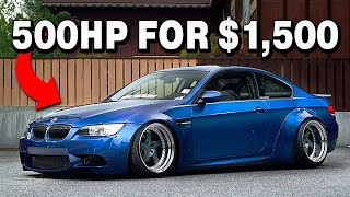 9 CHEAP Sleeper Cars With Unlimited Tuning Potential