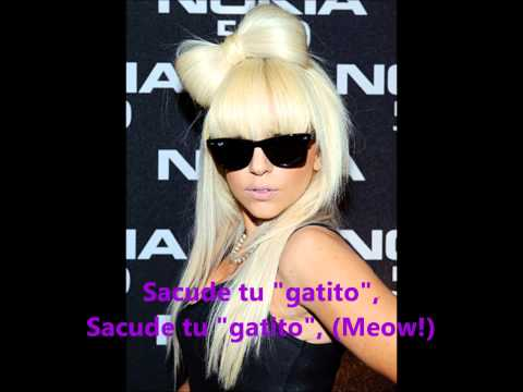 Lady GaGa Shake Ur Kitty sub español
