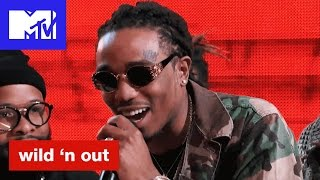 Quavo of Migos Calls Nick Cannon's Hat Alligator Ass | Wild 'N Out | #Wildstyle