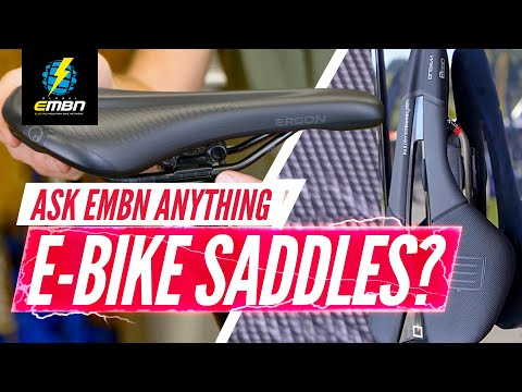 Can I Get A Comfortable E-MTB Saddle?   Ask EMBN Anything About E-Bikes