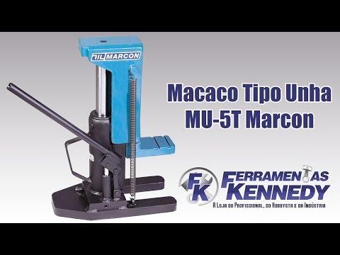 Macaco Tipo Unha Capacidade de 5 Toneladas Mu-5T Marcon - Vídeo explicativo