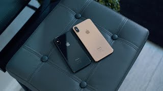 iPhone XS vs iPhone XS Max (Space Grey & Gold)