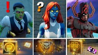 NEW BOSSES IN FORTNITE UPDATE (Boss Midas Zombie, Mystique, Galactus)