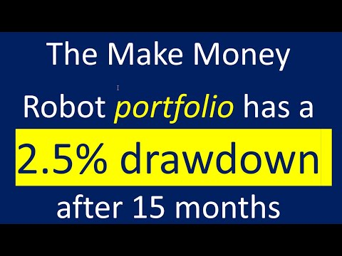See a Forex robot portfolio with a 2.5 percent drawdown after 15 month of gains. Learn how to do it.