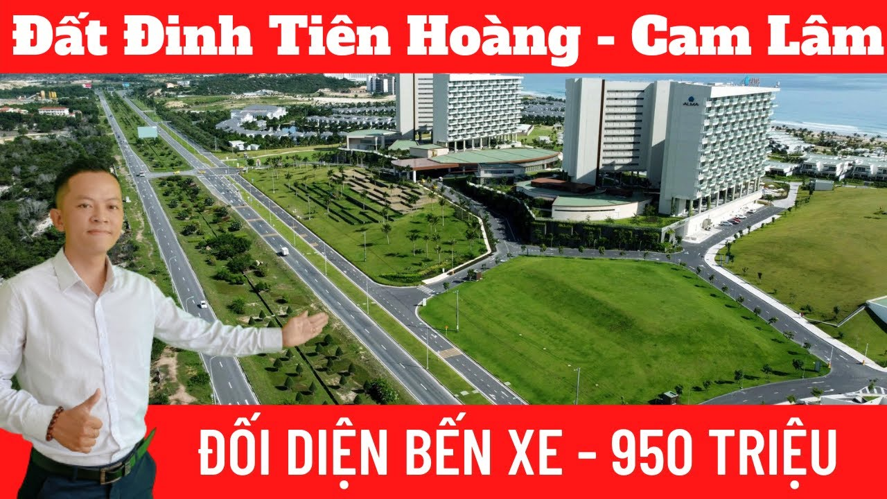 Duy nhất 1 nền đất, đối diện bến xe 5 hecta Cam Lâm, trên đường Đinh Tiên Hoàng. Chính chủ bán gấp video