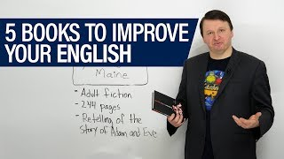 5 books to improve your English