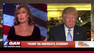 Trump Watches Sarah Palin Stroke Out on Live TV