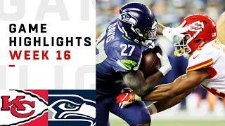 Chiefs vs. Seahawks Week 16 Highlights   NFL 2018