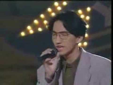 优客李林1992-3香港颁奖典礼唱《认错》