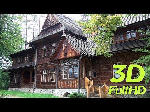 """[3D] Villa """"Koliba"""" / Willa """"Koliba"""", Muzeum Stylu Zakopiańskiego, Zakopane, Poland / Polska"""