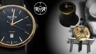 Restoration of a Rusty Bruno Söhnle Glashütte Automatic-Watch - Sellita SW-200 Full Service