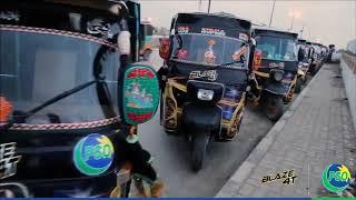 Fullyad Demo Video OOH Auto Rickshaw AD.  Blaze 4T Outdoor Advertising Campaign