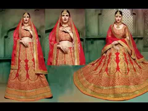 Wedding Bridal Lehenga Choli Designs for Bridesmaids to Attend Reception Party | Latest Collection