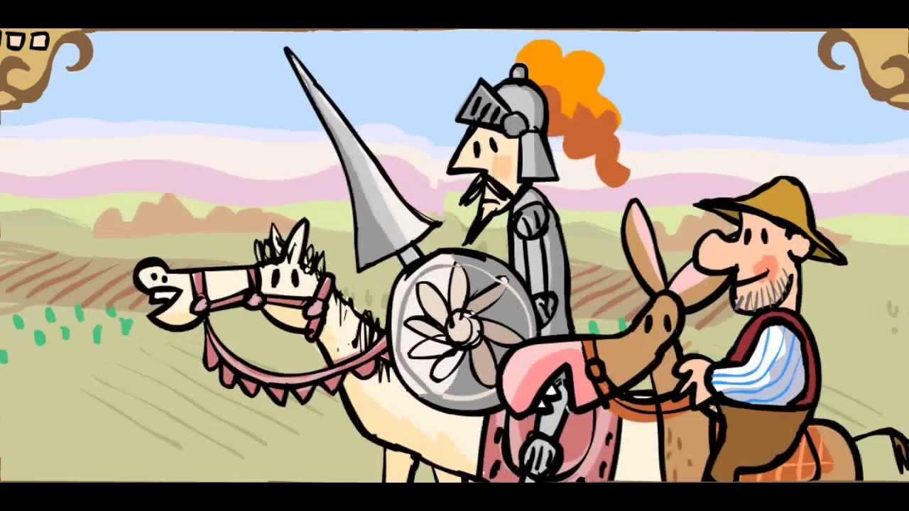 Cuentos infantiles El ingenioso hidalgo Don Quijote de la