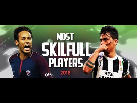 Most Skillful Players in Football 2018 • Neymar, Quaresma, Coutinho, Dybala & More ᴴᴰ
