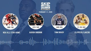 NBA All-Star Game, Aaron Gordon, Tom Brady, Clippers/Lakers (2.17.20) | UNDISPUTED Audio Podcast