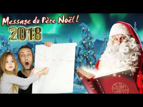INCROYABLE ! Ellie reçoit un message privé du Pere Noel pour cette année 2018 ! Christmas 2018