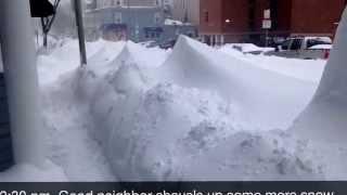 God Bless Boston - Blizzard 2015