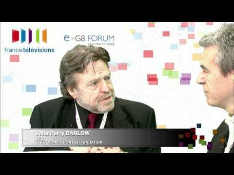 eG8 Forum: John Perry Barlow
