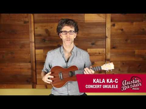 Kala KA-C Concert Ukulele Demo