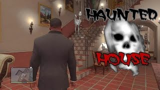 Franklin Visits Michael's Haunted House