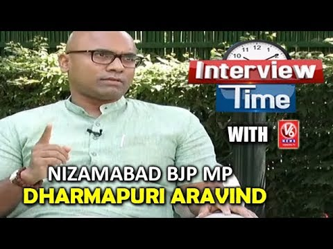 Interview Time With Nizamabad BJP MP Dharmapuri Aravind