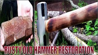 Rusty Old Hammer Restoration