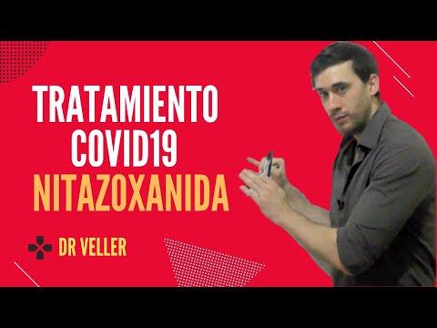 Tratamiento COVID-19 Nitazoxanida