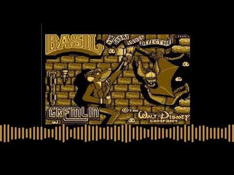 Introducción de Basil the Great Mouse Detective para computadoras Atari 8-bits