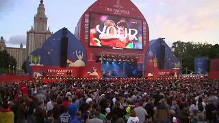 France v Belgium: Fans gather in Moscow ahead of World Cup semi-final - live!