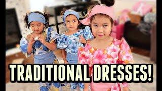 CUTEST TRADITIONAL DRESSES! - October 10, 2017 -  ItsJudysLife Vlogs