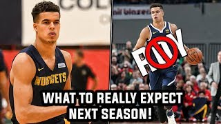 The Truth About Michael Porter Jr's Rookie Season!