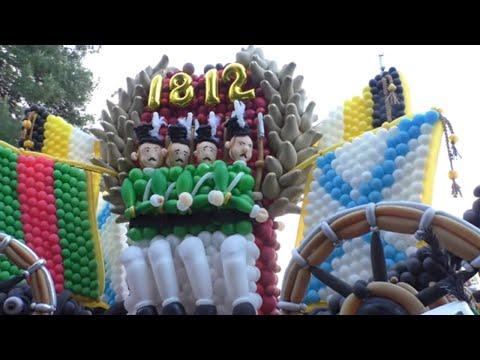 Открытие сезона 2021 / Парад шаров в Геленджике / Первый день карнавала в Геленджике